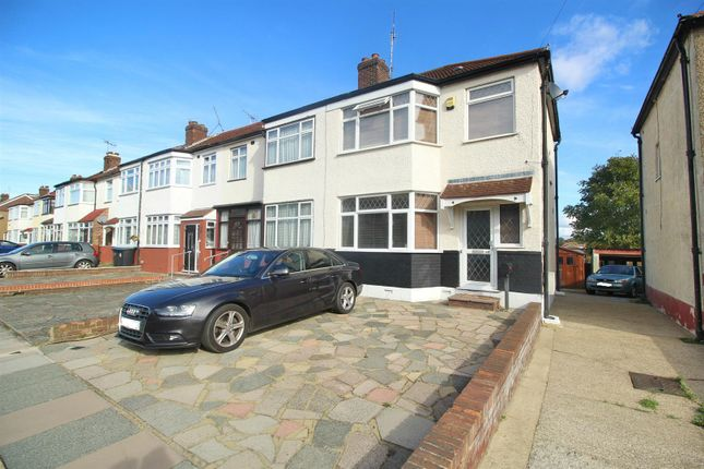 Thumbnail End terrace house for sale in Carisbrook Close, Enfield