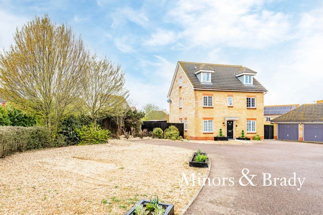 Thumbnail Detached house for sale in Dorley Dale, Carlton Colville, Lowestoft