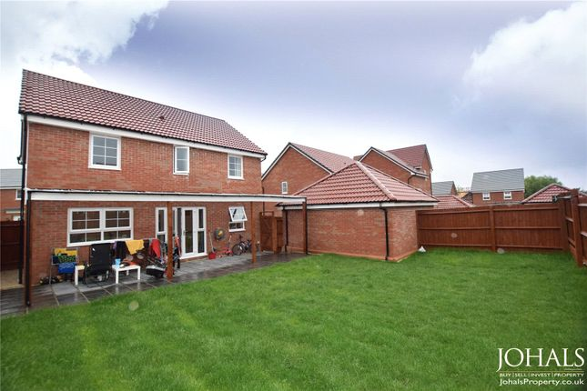 Garden of Gregory Way, Wigston, Leicestershire LE18