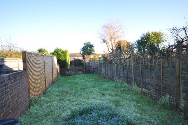 Rear Garden of Gordon Road, Hailsham BN27