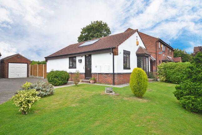 Thumbnail Detached bungalow for sale in Clarkson Court, Normanton
