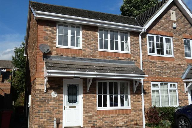 Semi-detached house for sale in Orchid Rise, Scunthorpe