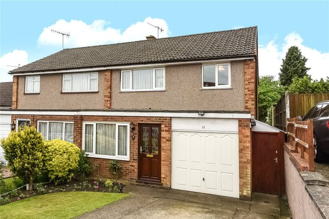 Thumbnail Semi-detached house for sale in Homefield Road, Bushey, Hertfordshire