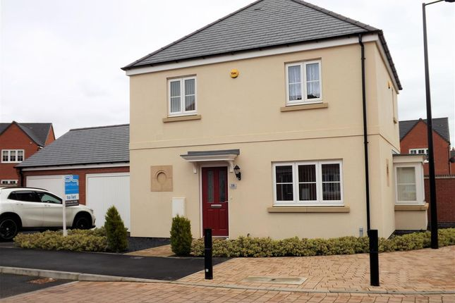 Thumbnail Detached house to rent in Houghton Way, Birstall, Leicester
