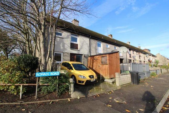 Thumbnail End terrace house to rent in Rowan Road, Aberdeen
