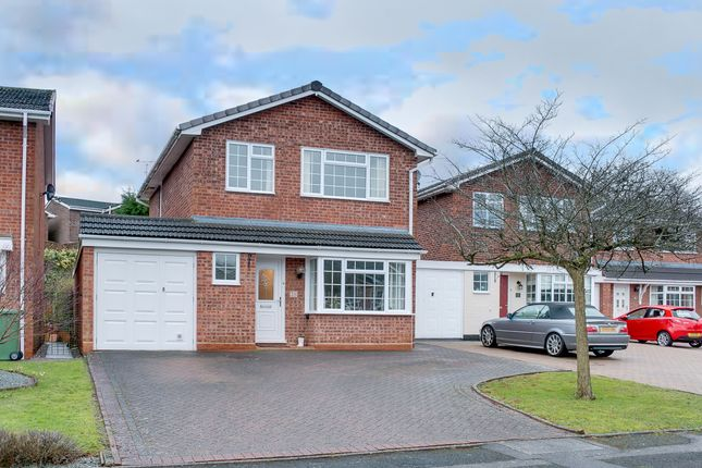 Thumbnail Detached house for sale in Campden Close, Headless Cross, Redditch