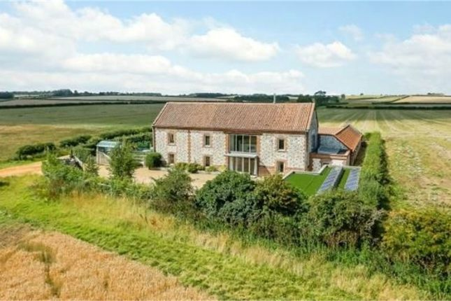 Thumbnail Barn conversion for sale in Field Barn Lane, Burnham Thorpe, King's Lynn, Norfolk