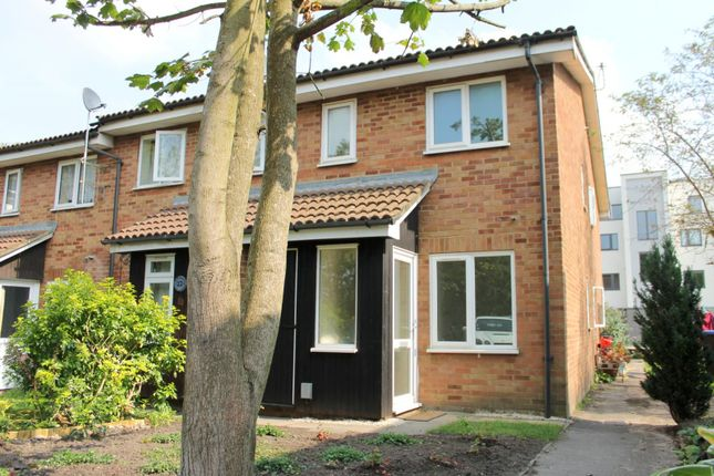 Thumbnail End terrace house to rent in Waverley Court, Woking
