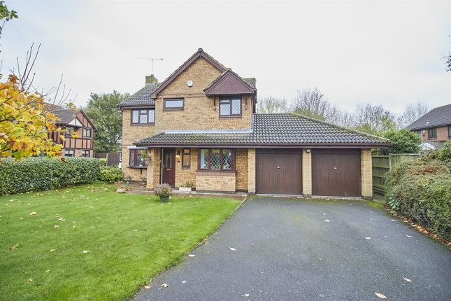 Thumbnail Detached house for sale in Vilia Close, Burbage, Hinckley