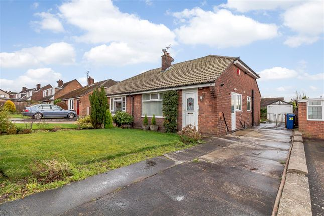 Thumbnail Semi-detached bungalow for sale in Lynton Drive, High Lane, Stockport