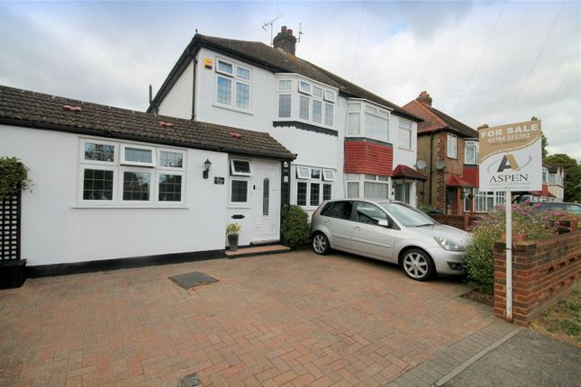 Thumbnail Semi-detached house for sale in Long Lane, Staines-Upon-Thames, Surrey
