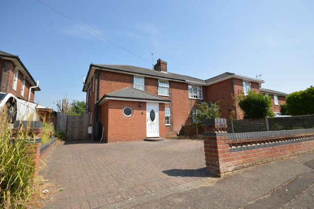 Thumbnail Semi-detached house for sale in Irvine Road, Colchester