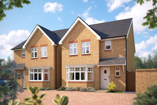 "Thumbnail Detached house for sale in ""The Epsom"" at Steppingley Road, Flitwick, Bedford"
