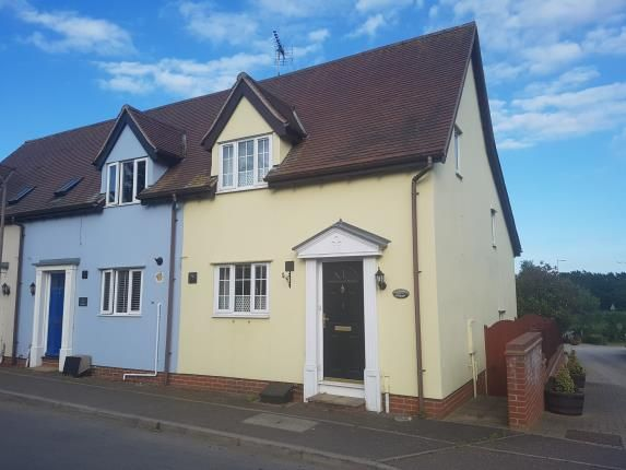 Thumbnail End terrace house for sale in The Street, Ramsey, Harwich