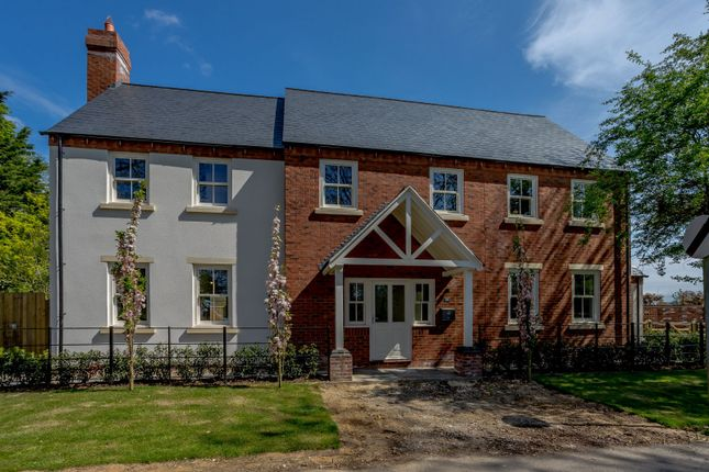 Thumbnail Detached house for sale in Dingley Road, Great Bowden, Market Harborough, Leicestershire