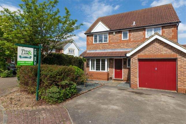 Thumbnail Detached house for sale in Burmoor Close, Huntingdon