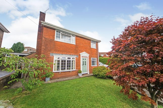 Thumbnail Detached house for sale in Caldicot Close, Blackwood