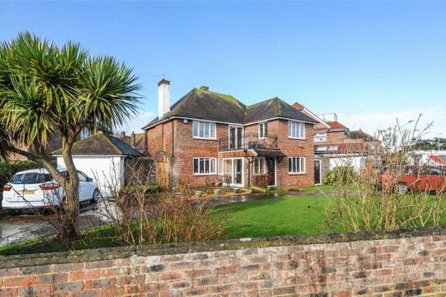 Thumbnail 3 bed detached house for sale in Marine Drive, Goring-By-Sea, Worthing