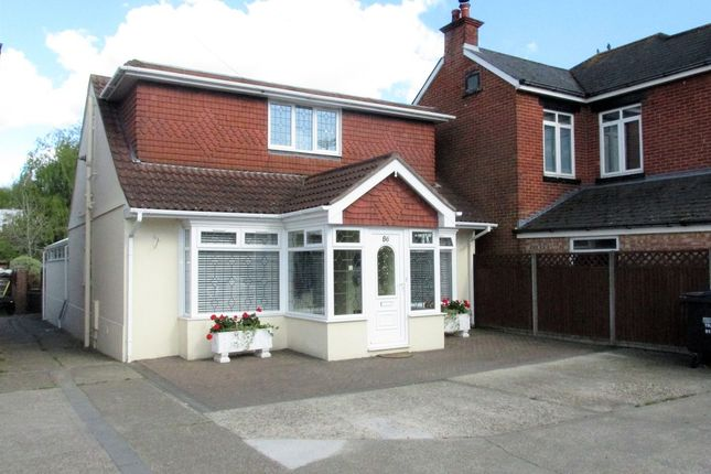 Thumbnail Detached bungalow for sale in Fareham Road, Gosport