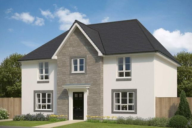 "Thumbnail 4 bedroom detached house for sale in ""Buchanan"" at Inverurie"
