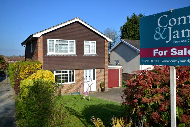 Thumbnail Detached house for sale in Glebelands, Pulborough