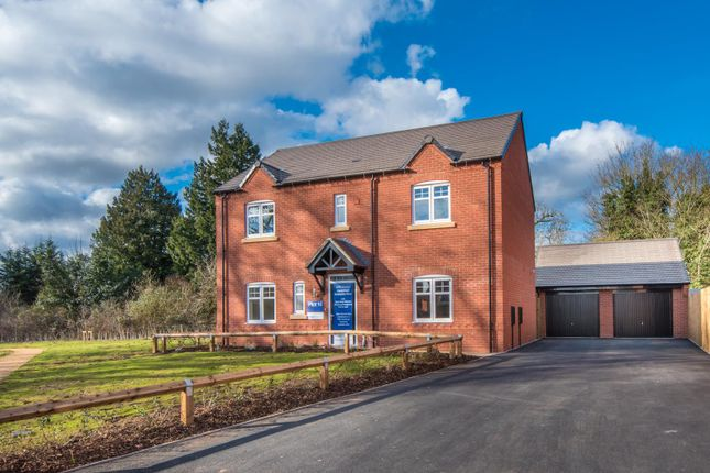 Thumbnail Detached house for sale in Miller Homes, Birmingham Road, Stratford-Upon-Avon