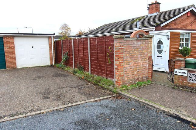 Thumbnail Detached bungalow for sale in Greenwood Way, Norwich, Norfolk