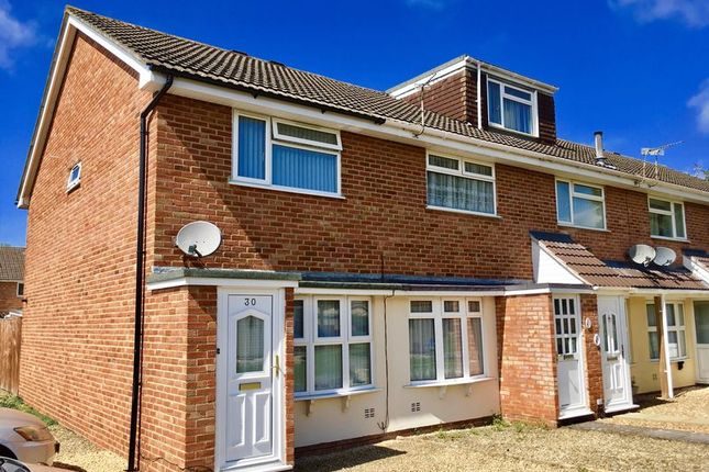 Thumbnail End terrace house for sale in Constable Drive, Worle, Weston-Super-Mare