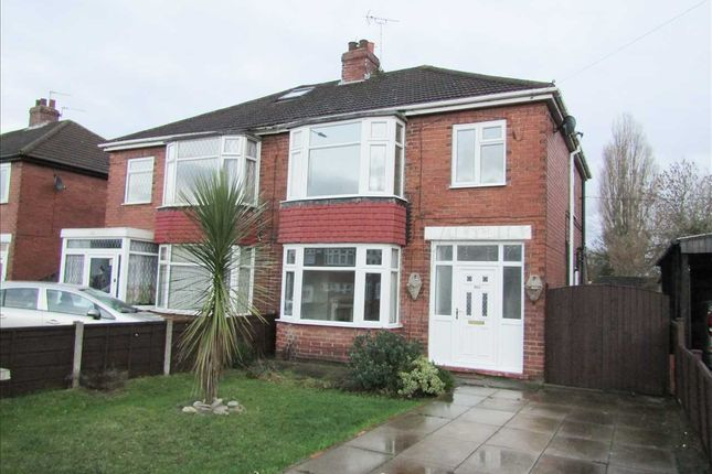 Thumbnail Semi-detached house for sale in Cemetery Road, Scunthorpe