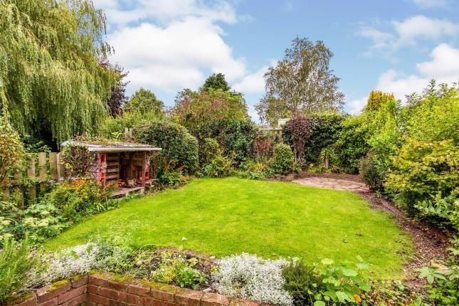 Rear Garden of Ingleby Arncliffe, North Yorkshire, England, United Kingdom DL6
