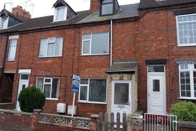 3 bed terraced house to rent in King Street, Hodthorpe, Worksop, Nottinghamshire S80