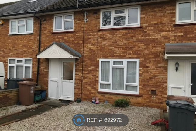 Thumbnail Terraced house to rent in Kymswell Road, Stevenage