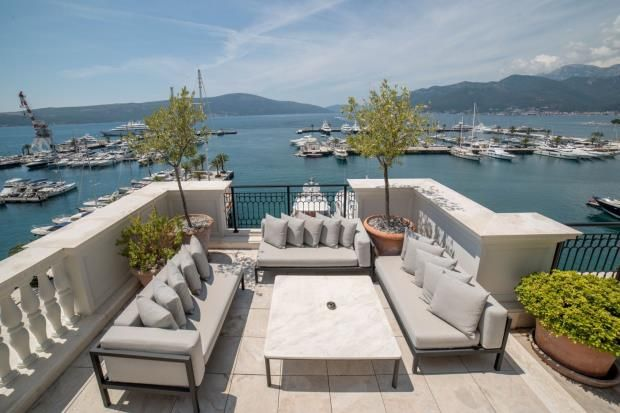 Thumbnail Apartment for sale in Penthouse In The Regent Hotel, Porto Montenegro, Tivat, Montenegro