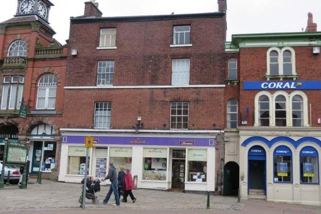 Thumbnail Retail premises for sale in 9 And 10 Market Place, Leek, Staffordshire