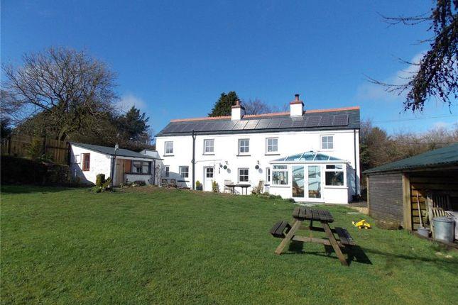 Thumbnail Detached house for sale in Minions, Liskeard, Cornwall