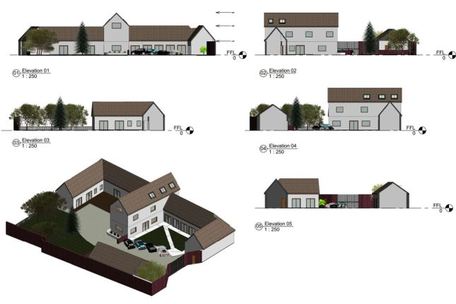 Detached house for sale in The Lodge Askews Lane, Yaxley, Peterborough