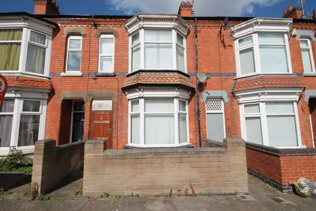 Thumbnail Terraced house for sale in Winchester Avenue, West End, Leicester