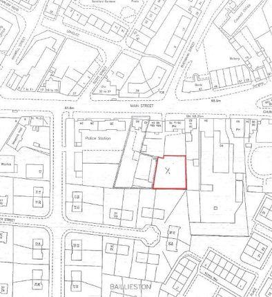 Thumbnail Land for sale in Main Street, Baillieston, Glagsow
