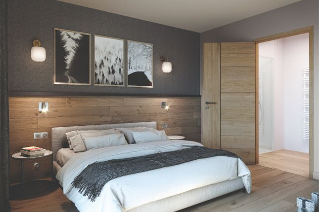Example Bedroom of Alpe D'huez, Isere, France