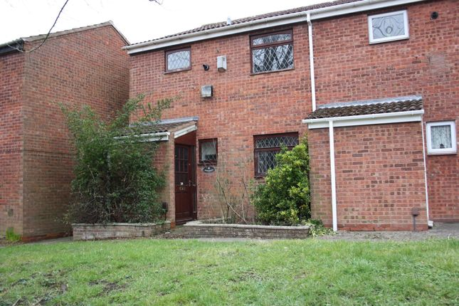 3 bed end terrace house to rent in Loxley Close, Redditch B98