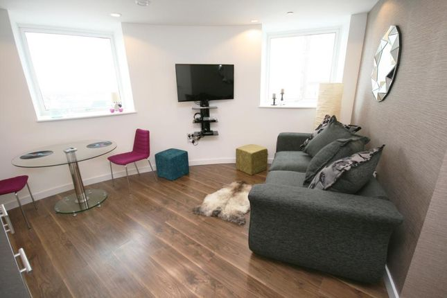 Thumbnail 1 bed flat to rent in The Heart, Media City UK, Salford, Greater Manchester