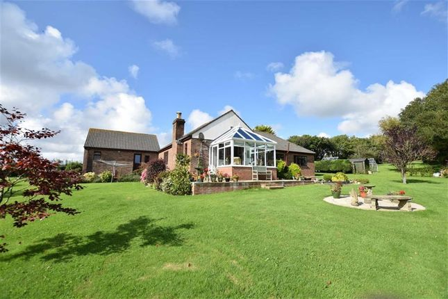 Thumbnail Detached bungalow for sale in Marhamchurch, Bude