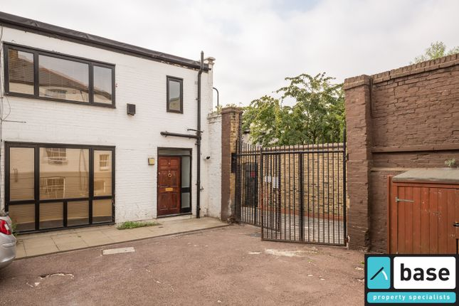 Thumbnail End terrace house to rent in Victoria Park Studios, Milborne Street, Hackney