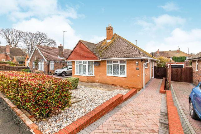 Thumbnail Detached bungalow for sale in Deans Close, Bexhill-On-Sea