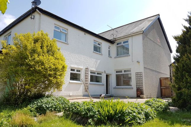 Thumbnail Semi-detached house to rent in Spring Gardens, Whitland, Carmarthenshire