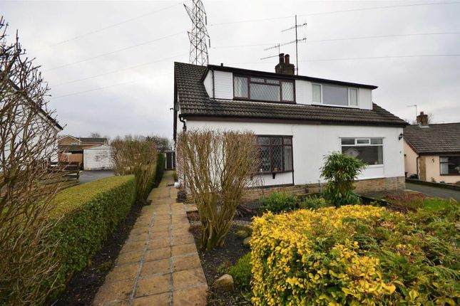 Thumbnail Semi-detached bungalow for sale in Cragside, Idle, Bradford