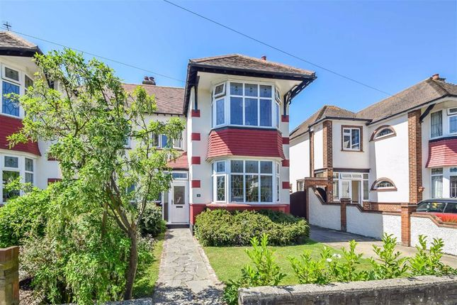 Thumbnail Semi-detached house for sale in Quorn Gardens, Leigh-On-Sea, Essex