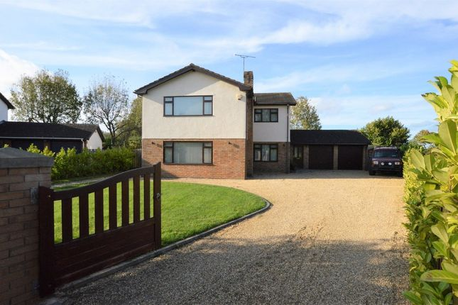 Thumbnail Detached house for sale in Harwoods Lane, Rossett, Wrexham