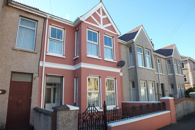 Thumbnail Terraced house for sale in Wellington Road, Hakin, Milford Haven