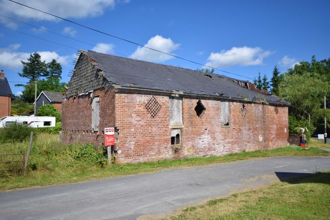 Thumbnail Property for sale in Pant-Y-Dwr, Powys
